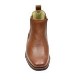 Bota Masculina Casual Comfort Premium Em Couro Legítimo Whisky