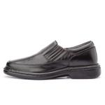 Sapato Masculino Antistafa em Couro Legitimo Preto