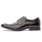 Sapato Social Masculino Brogue Em Couro Legítimo Preto