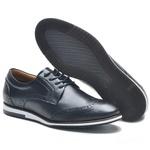 Sapato Oxford Masculino NV-Couro Legitimo Preto