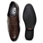 Sapato Social Masculino em Couro Legitimo Soft Café