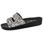 Sandália Conforto Zebra 2 Fivelas