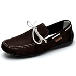 Mocassim Dockside Sapatilha Casual R.o. - 952 - Cafe