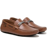 Mocassim Drive Masculino Couro Floater Art Nobre - 3450 - Whisky