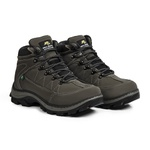 Bota Adventure Casual Couro Nobuck Hiking Extreme Bell Boots - 900 - Grafite