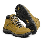 Bota Adventure Casual Couro Nobuck Hiking Extreme Bell Boots - 900 - Milho