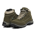 Bota Adventure Casual Couro Nobuck Hiking Extreme Bell Boots - 900 - Oliva