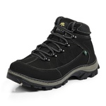 Bota Adventure Casual Couro Nobuck Hiking Extreme Bell Boots - 900 - Preto