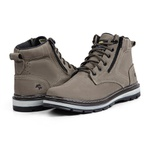 Bota Adventure Casual Couro Hiking Master Nobuck Bell Boots - 835 - Taupe