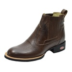 Bota Country Couro Floater Escrete - 955 - Café