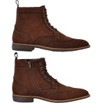 Bota Casual Masculina Brooklyn Oxford Haragano - 27413 - Ocre