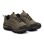 Tênis Adventure Couro Legítimo Strong Front Trekking Stop Boots - R40 - Marfim