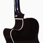 Violão Di Giorgio Iron Red - Cordas de Aço, Eletroacústico, Mini Jumbo Cutaway