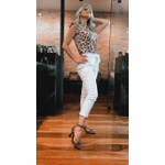 Sapato Feminino Leopardo Natural, Animal Print - Luiza Barcelos