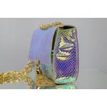 Bolsa Metalizada Furta-cor Com detalhes - Luiza Barcelos