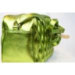Bolsa Viena Média Verde Metalizada - Luiza Barcelos