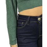 Cropped Tricot - Verde Militar