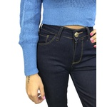 Cropped Tricot - Azul