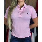 Polo Importada TH feminina - rosa