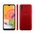 Samsung Galaxy A01 Desbloqueado 32GB Vermelho