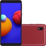 """Smartphone Samsung Galaxy A01 Core Dual Chip Android 10.0 Tela 5.3"""" Quad-Core 32GB Wi-Fi Câmera 8MP - Vermelho"""