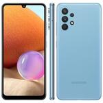 Smartphone Samsung Galaxy A32 128GB 4G Wi-Fi Tela 6.4'' Dual Chip 4GB RAM Câmera Quádrupla + Selfie 20MP - Azul