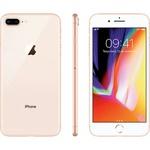 "iPhone 8 Plus Dourado 256GB Tela 5.5"" IOS 11 4G Wi-Fi Câmera 12MP - Apple"