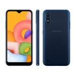 Smartphone Samsung Galaxy A01 32GB Azul