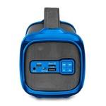 Caixa De Som Multilaser Bazooka Bivolt Preta E Azul SP350