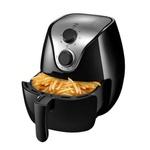 Fritadeira Elétrica Sem Óleo Multilaser CE021 Air Fry 4L 1500W -Preta
