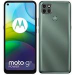 """Smartphone Motorola Moto G9 Power Verde Pacífico 128GB, 4GB RAM, Tela de 6.8"""", Câmera Traseira Tripla, Android 10 e Processador Octa-Core"""