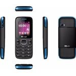 Celular Blu Zoey Preto e Azul Dual Tela 2.4 3G Câm Vga Z070L