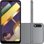 """Smartphone LG K22 Titan 32GB, Tela de 6.2"""", Câmera Traseira Dupla, Android 10, Inteligência Artificial e Processador Quad-Core"""