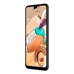 """Smartphone LG K41S Preto 32GB, RAM de 3GB, Tela de 6,55"""" V- Notch HD+ 20:9, Inteligência Artificial, Câmera Quádrupla e Processador Octa-Core 2.0"""