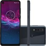 """Smartphone Motorola One Action 128GB Dual Android Pie 9.0 Tela 6.3"""" Exynos 9609 (S925) 4G Câmera 12+5+16MP (Quad Pixe) - Azul Denim"""