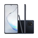 """Smartphone Samsung Galaxy Note 10 Lite Preto 128GB, 6GB RAM, Tela de 6.7"""", Câmera Traseira Tripla, Caneta S-Pen e Leitor de Digital na Tela"""