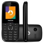 Celular Positivo Dual Chip P26 Bluetooth Preto