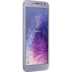 "Smartphone Samsung Galaxy J4 32GB Dual Chip Android 8.0 Tela 5.5"" Quad-Core 1.4GHz 4G Câmera 13MP - Prata"