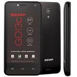 Smartphone Semp GO 3C Dual Flash 5MP - Preto