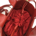 Bolsa Bruna Vermelha