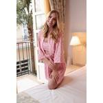 Pijama e Robe Ísis Rosa Inspiração LV