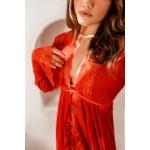 Robe Melissa Longo Vermelho