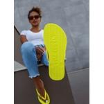 Chinelo Amarelo Neon