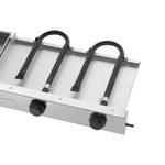 Chapa Bifeteira Slim 2 Queimadores 80x50 Baixa Pressão - Compact Cold
