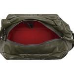 Bolsa alça de nó verde em couro Donna Clô