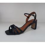Sandália metalizada couro Eclipse Donna Clô