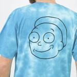 Camiseta Primitive x Rick n Morty Outline Tie Dye Blye
