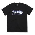 Camiseta Thrasher Flame Logo Sky Black