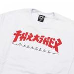 Camiseta Thrasher Godzila White