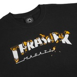 Camiseta Thrasher Intro Burner Black